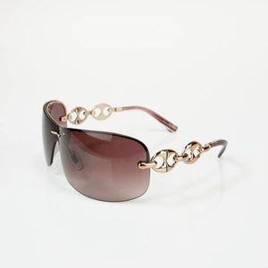 Gucci 2772S Rose Gold Wrap Around Sunglasses